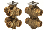 VWG41.20-1.0-1.6 6-ходовой регулирующий шаровой клапан SIEMENS
